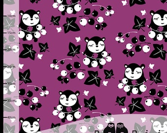 Myyry's Currants PaaPii Jersey Knit Fabric  UK Seller