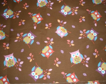 fabric owls / Brown owl