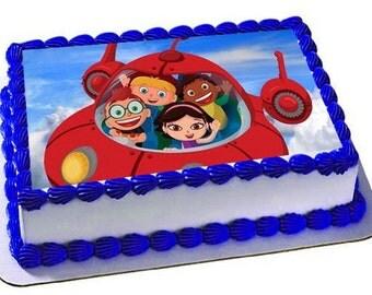 Little Einsteins Edible Cake Topper, Little Eisnteins Birthday Party, Frosting Sheet