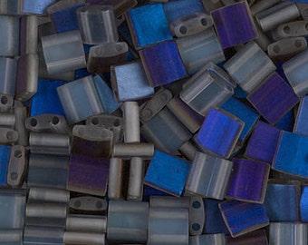 Tila Bead- Azuro Matte #4556  Miyuki Tila Beads - 10 grams