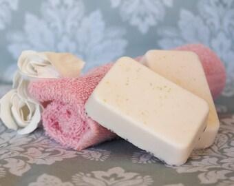 Grapefruit Citrus Shea Butter Soap, Body Soap, Bath Soap, Bath Bar, Handmade Soap, Moisurizing Bath Soaps