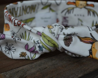 Girls, Baby, Toddler Organic Cotton Knit Montana Headband