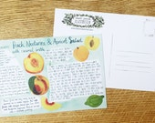 Recipe Card, 'Fruit Salad'