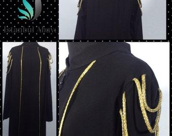 Jilbab,Abaya,Black,long Sleeve