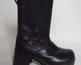 90's Grunge Boots -  UK 6