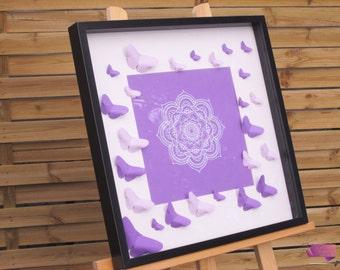 Frame Astrée origami and kirigami