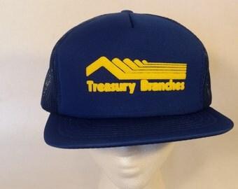 Treasury Branches Vintage hat.