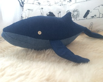 Mr POP, plush Whale, ideal gift for everyone.