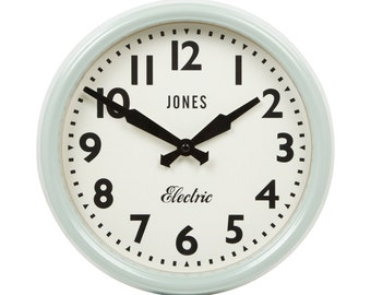 JONES - Black - Wall Clock Edition