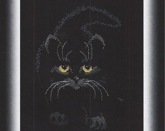 Cross Stitch Kit Black cat