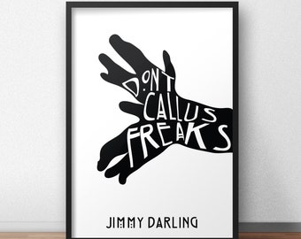 AHS Jimmy Darling Printable Poster