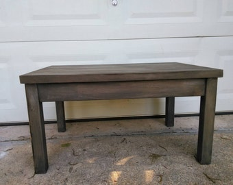 Rustic Farmhouse Coffee Table / Occasional Table / Side Table