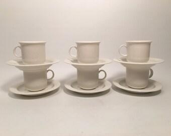 Set of 6 coffee cups Arctica Arabia Finland