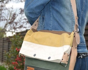 Patchwork shoulderbag