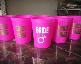 Bride Tribe Cups (set of 8)