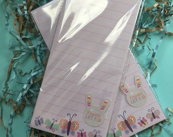 Large Butterfly List Pad