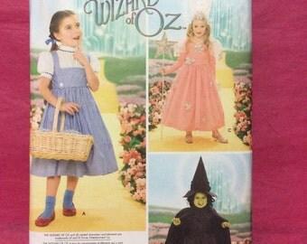 Simplicity 4139 Pattern / Wizard of Oz Pattern / Childs Costume Pattern / Size 3 - 8/ Free U.S. Shipping