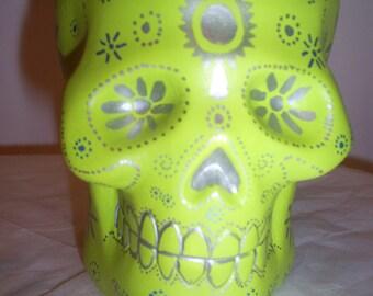 Sugar Skull trinket box day of the dead halloween Dia De Los Muertos