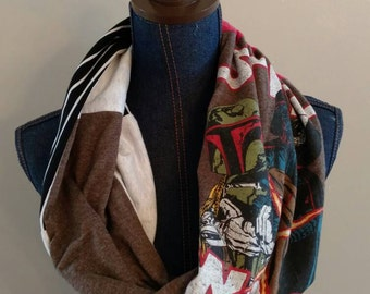 Star Wars infinity tshirt scarf