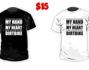 His Heart Knows Dirtbike T-Shirt