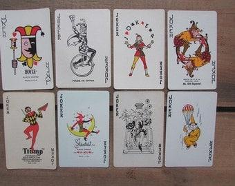 Joker Swap Cards VIntage Playing Cards