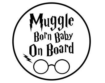 Muggle On Board Etsy