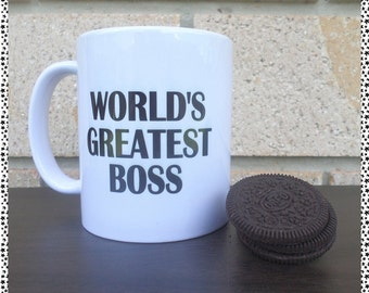 Worlds Greatest Boss Surprise Mug