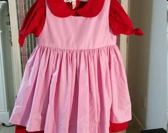 Two Piece Strawberry Girl's Dress