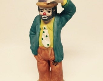 Vintage Emmett Kelly Jr. Figurine by Flambro