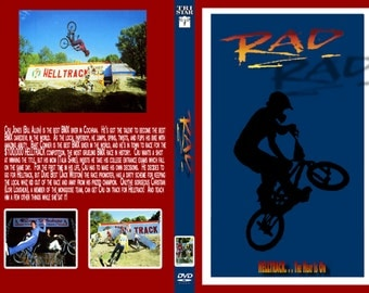 RAD dvd 1986 very rare bmx racing bill allen