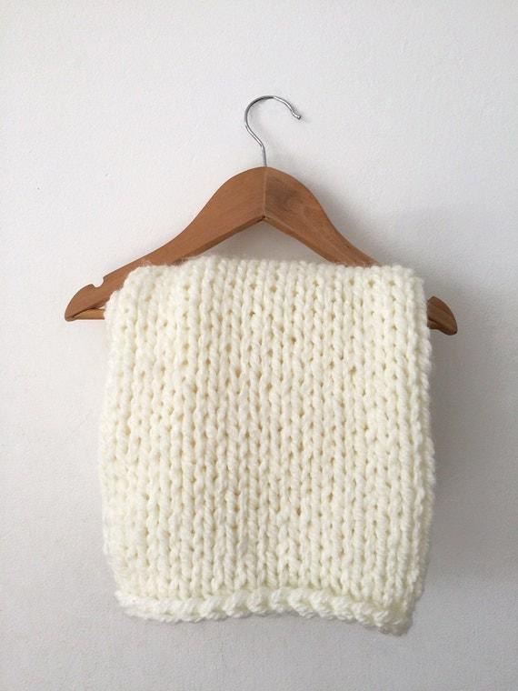 Chunky Knit Baby Blanket Crib Blenket Knit Blanket Cot