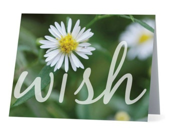Wish Flower Card Set of 8
