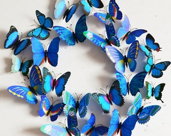 Sticker Art Design Wall Stickers Home Décor Room Decorations 3D Butterfly Decal  - FAST & FREE SHIPPING !!!