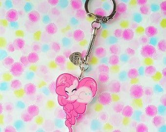 "Necklace or keychain "" My little pony """