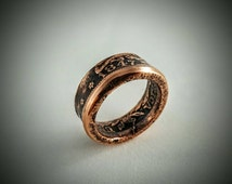 1847 US Large Cent Coin Ring Clearance Price!