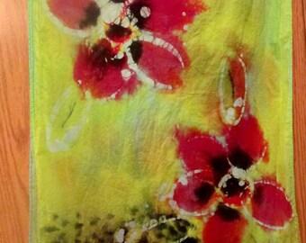 One of a kind~Original Hand Painted Batik Scarves