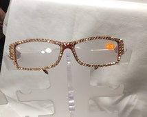 1.75 Swarovski Crystal Reading Glasses FREE SHIPPING