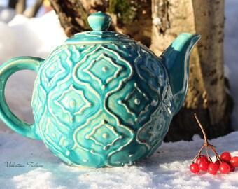 """Ceramic teapot """"Azure"""""""
