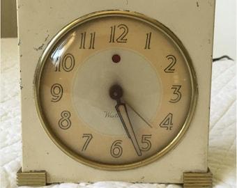 1940's Art Deco alarm clock
