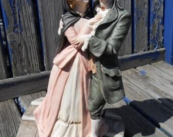Capodimonte Romantico Veneziano Figurine by Bruno Merli.