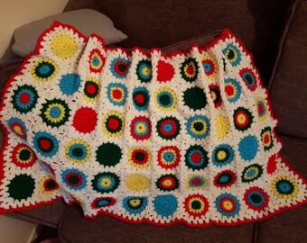 Colourful Circles Blanket