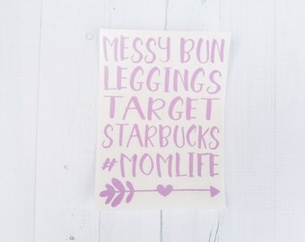 Mom Life decal | blessed momma decal | Mom life sticker | vinyl decal | coffee cup decal | car decal | iPhone decal | Yeti decal