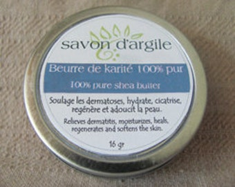 Fair trade Shea butter and organic nature