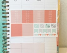 Weekly Kit Planner Stickers for Inkwell Press (MS-IWPWKDreamsicle)