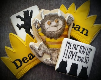 Wild Things Cookies