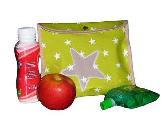 Snack Bag - GREEN call - (17 x 21 cm)