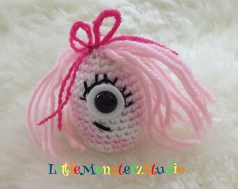 Amigurumi Monster plush crochet toy