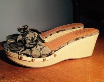 COACH LORAH Sandals Size 9.5