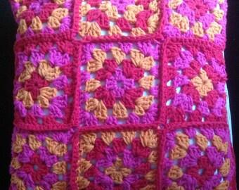 Pillows, sofa pillows, pillow - Granny squares