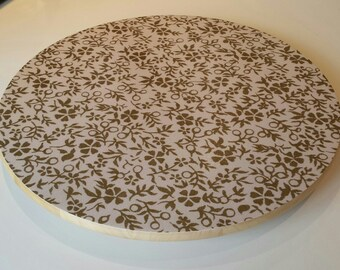 Wooden Lazy Susan - Simplicity Design - Wooden Revolving Tableware - Ideal Wedding Gift